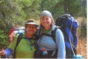 Netto & Kathy on the 165 mile Tahoe Rim Trail