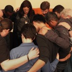 Prayer Circle at GCN