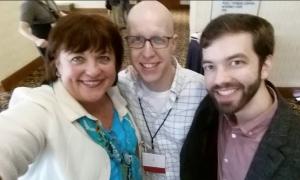 Kathy Baldock, Justin Lee and Matthew Vines